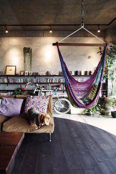 Indoor hammock - YES