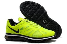 sports shoes 7ee38 d8652 487982-701 Womens Nike Air Max 2012 Volt Black White Free Runnin Nike Free  Shoes