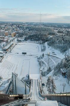International ski jump in Lahti