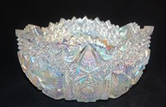 L. E. Smith Carnival Glass Comet of the by LadyMayfairAntiques, $39.00 Sold!