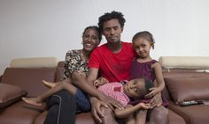 Feyisa Lilesa: I just didn't have the words to explain to my wife why I'd put her and our children in danger      He made a powerful political statement as he crossed the finishing line in Rio     The 27-year-old Ethiopian publicised the persecution of the Oromo people      Lilesa is one of the favourites for next Sunday's London Marathon
