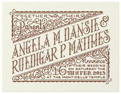 Rudi & Angelas Invite