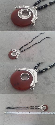 Necklaces and Pendants 98481: Handmade African Tuareg Necklace Ethnic Tribal Jewelry Silver Gypsy Hippy Africa -> BUY IT NOW ONLY: $32 on eBay!