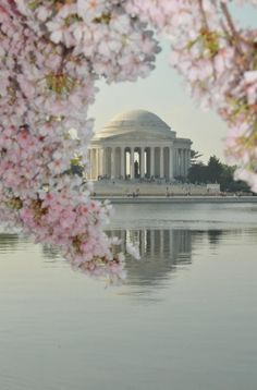 I used to beg to go to the Jefferson Memorial.