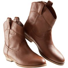 H&M Boots ($18) ❤ liked on Polyvore featuring shoes, boots, zapatos, botas, women, rubber sole shoes, vegan leather boots, vegan boots, faux leather shoes and h&m shoes