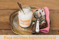 Aprenda a fazer seu próprio iogurte sem conservantes e nem aditivos!