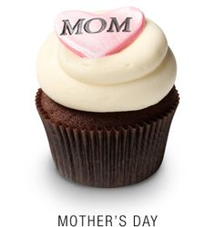 i shipped my mother and mother-in-law a custom dozen from georgetown cupcakes. WAY better than flowers.