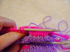 Ścieg kitchener czyli jak zakończyć przygodę z double knitting