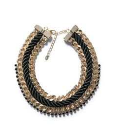 Image 1 of COMBINATION CHAIN NECKLACE from Zara
