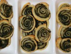 Olive Tapenade Pinwheels