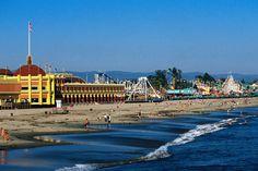 Santa Cruz, CA  great memories of riding on the 1924 Giant Dipper roller coaster last summer.