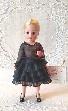 "Blue Dress w//Leopard Print Skirt for Cissette MA 10 /"" Doll"