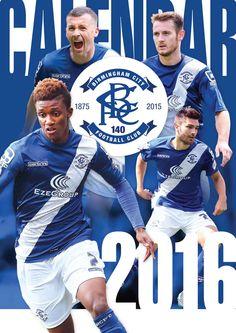 Birmingham City FC A3 Calendar 2016