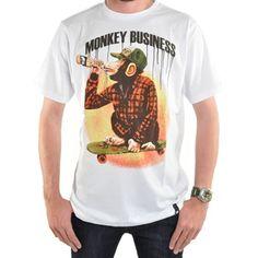 Osiris monkey tee, cool tshirt design