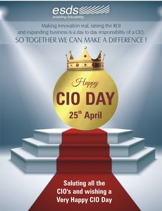Saluting all the CIO's and wishing a very Happy CIO Day! #CIOday
