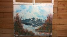 Painting With Magic (Fall Mountain) wet on wet oil painting season 3 ep 7