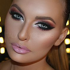 Flawless face don't care... Try Ben Nye's Glam Shadow Palette from crcmakeup.com