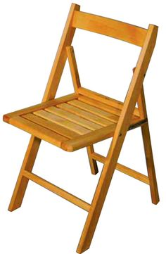 Silla Plegable de madera haya clásica Viada