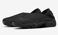 The Nike Air Rift loses the strap and takes on slip-on construction that wraps around the foot