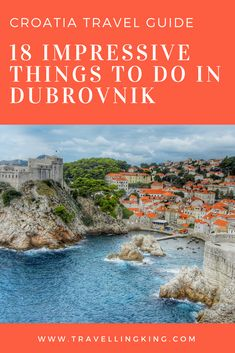 18 Impressive Things to do in Dubrovnik Croatia Travel Guide 18 Impressive Things to do in Dubrovnik Croatia Travel Guide Croatia Travel Guide, Europe Travel Guide, Travel Destinations, Budget Travel, Travel Guides, Traveling Tips, Holiday Destinations, Italy Travel, Backpacking Europe