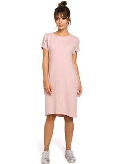 Comfortable thanks to its relaxed fit and in-seam front pockets, this tailored, ribbed knit dress is bound to be one of your favorite for every day. Day Dresses, Dresses For Work, Sports Skirts, Ribbed Knit Dress, Swim Dress, Farmer, Calvin Klein, Cold Shoulder Dress, Short Sleeve Dresses