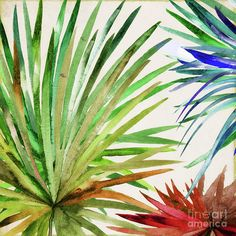 Leaves Painting - Rio Five by Mindy Sommers