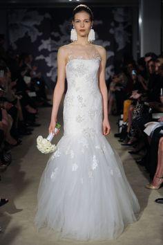 The Claribelle gown #CarolinaHerrera #bridal