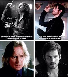 """I'm pretty sure Hook did this just to spite Rumple. """"You did this to me, now I'm going to do this to you."""""""