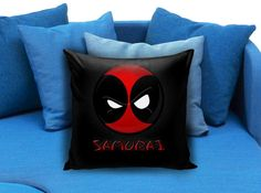 Deadpool Pillow Case   These soft pillowcase made of 50% cotton, 50% polyester.  It would be perfect to decorate your home by using our super soft pillow cases on sofa, chair, bench or bed.  Customizable pillow case is both comfortable and durable, improving the quality of your sleep with these comfortable pillow case, take it home now!  Custom Zippered Pillow Cases available in 7 different size (16″x16″, 18″x18″, 20″x20″, 16″x24″, 20″x26″, 20″x30″, 20″x36″)