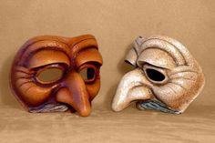 Commedia Dell Arte Pantaloon Mask