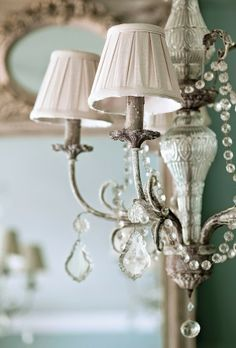 Chandelier Pretty Shades Lovingly Repinned By Www Skipperwoodhome Co Uk French Country