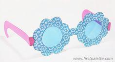 Flower Paper Eyeglasses