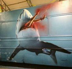 Street art by Sebastian B.