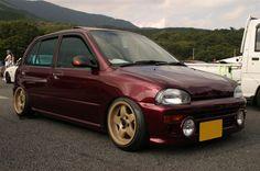 Subaru Vivio   Lowered, Stance, JDM