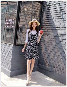 Mini dress korean style chicken