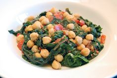 This recipe is a quick vegetarian version of the Sephardic hamin, the Sabbath dish that would traditionally slow-cook overnight. It's called adafina by the Jews of Spain and cholent to Ashkenazic Jews of Eastern Europe. Though adafina customarily includes meat, this vegetarian version keeps the spirit of the dish. It incorporates greens, as was common among Tunisian Jews, once so influenced by Spain. Adapted from Gil Marks's Encyclopedia of Jewish Food and from Smitten Kitchen.