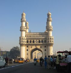 The Charminar - Hyderbad, India i was here too!!