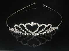 Wedding Headband Bridal Tiara Rhinestone Headband Ideal for Bridal Pageants Proms Christmas Gift H9 -- Continue to the product at the image link.(This is an Amazon affiliate link and I receive a commission for the sales)