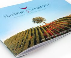 Brochure design for the specialist French wine distributor.