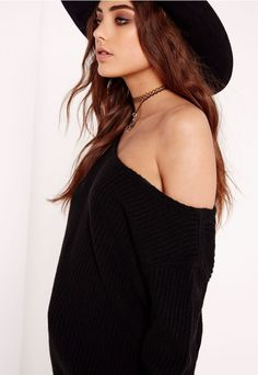 Throw over this super cool off the shoulder jumper this season. this quirky…