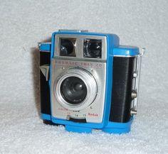 Blue Vintage Kodak Brownie Twin 20  Twin View by UpcycledClassics, $98.00