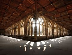 Cloisters at Durham Cathedral - *Reminds me of Westminster Abbey very much*