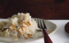 Cauliflower Risotto with Brie and Almonds: 2000s Recipes + Menus : gourmet.com