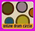 online drum circle (for the music teacher)