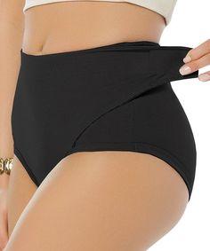 HelloTem Women's Adjustable Belly Wrap Postpartum Control Panties Slimmer Shapewear