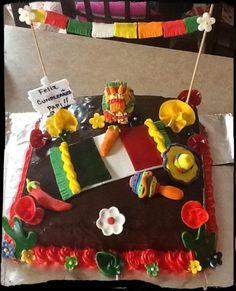 Cinco de mayo birthday cake  by Mariposa's Sweets