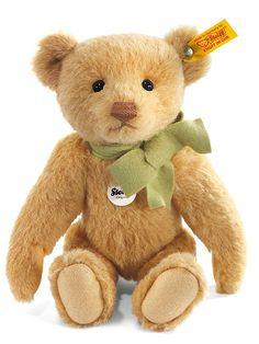Steiff Classic Teddy Bear: Mohair Stuffed Bear