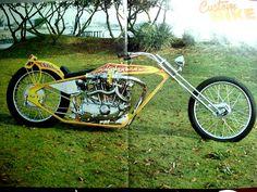 Lead Sled, Kustom Kulture, My Youth, Ol Days, Digger, Choppers, Custom Bikes, Cool Bikes, Helmets