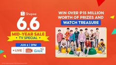 Shopee, the leading e-commerce platform in Southeast Asia and Taiwan, invites everyone to enjoy exciting deals, prizes, and performances at the Shopee 6.6-7.7 Mid-Year Sale TV Special, Shopee's biggest TV Show to date. Filipinos can watch the fiesta-themed-celebration, broadcast live from Araneta Coliseum, by tuning in to GMA-7 and Shopee Live on June 6, 2:00-3:30 PM. Until July 7, users can also enjoy free shipping, daily ₱1 deals, up to 20% cashback, and more at Shopee's 6.6-7.7 Mid-Year…