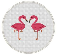 Flamingo cross stitch pattern Bird Сross от MagicCrossStitch
